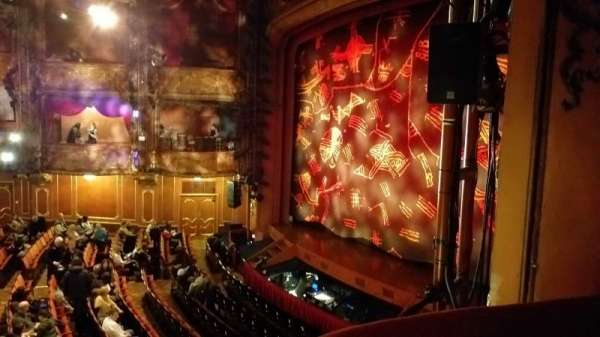 Lyceum Theatre (West End), section: Royal Circle, row: AA, seat: 1