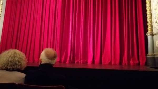 The Old Vic, section: Stalls, row: E, seat: 26