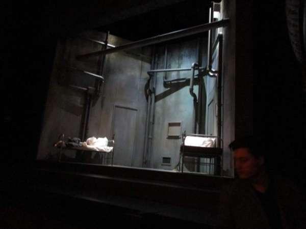 Harold Pinter Theatre, section: Stalls, row: F, seat: 1