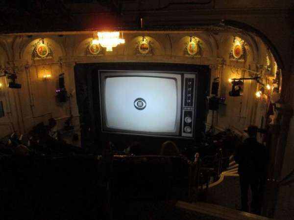 Ambassadors Theatre, section: Circle, row: L, seat: 5