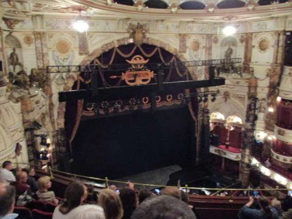 London Coliseum, section: Balcony, row: H, seat: 46