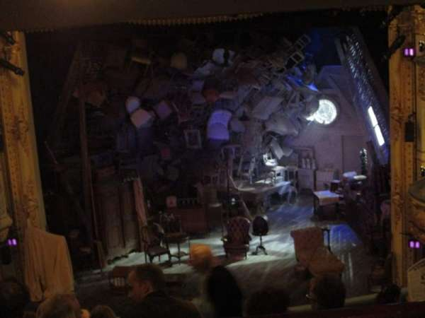 Wyndham's Theatre, section: Royal Circle, row: G, seat: 13
