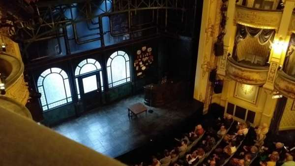 Wyndham's Theatre, section: Grand Circle, row: A, seat: 29