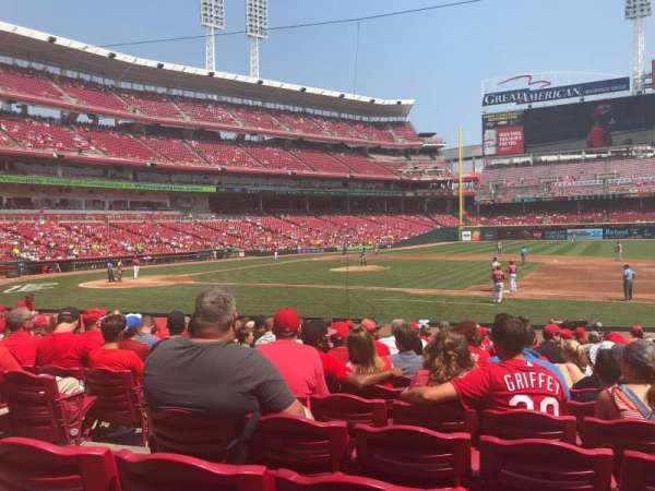 Great American Ball Park, section: 131, row: T, seat: 15