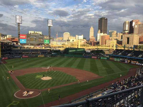PNC Park, section: 213, row: B, seat: 6