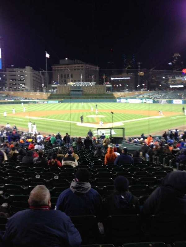 Comerica Park, section: 128, row: 34, seat: 6