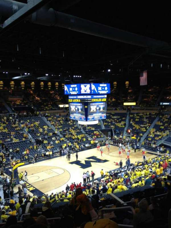 Crisler Center, section: 208