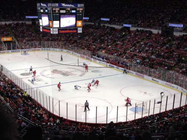 Joe Louis Arena, section: 203A, row: 16, seat: 8