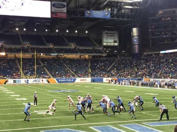 Ford Field, section: 136, row: 9, seat: 10