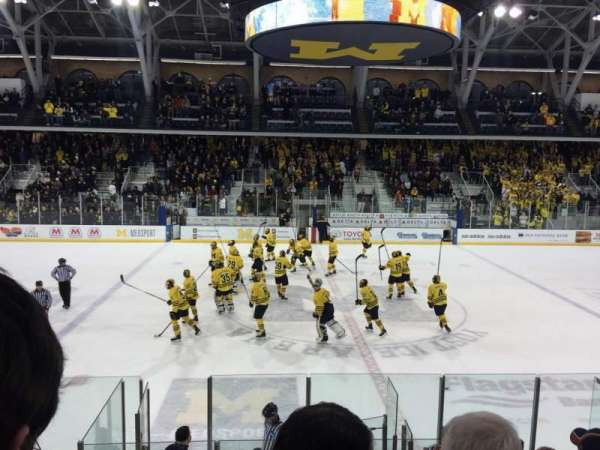 Yost Ice Arena, section: 4, row: 12, seat: 10
