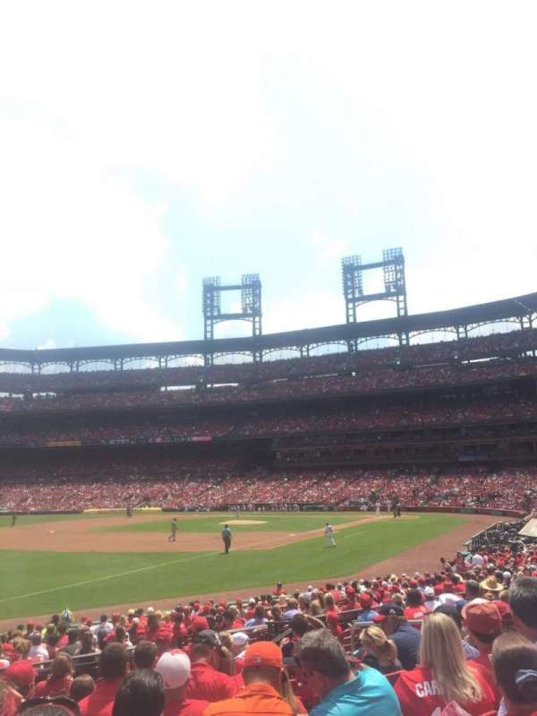 Busch Stadium, section: 164, row: 11, seat: 9
