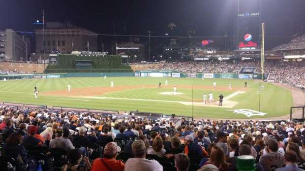 Comerica Park, section: SRO