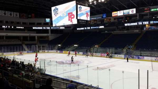 Webster Bank Arena, section: 117, row: 15