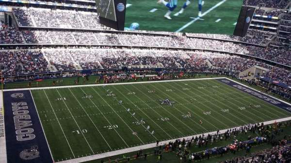 AT&T Stadium, section: 418, row: 1, seat: 19