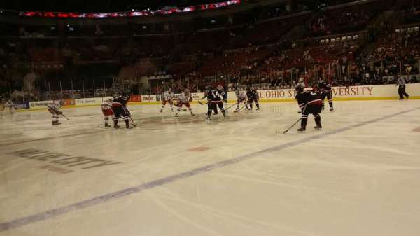 Value City Arena, section: 121, row: C, seat: 17