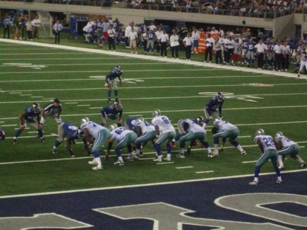 AT&T Stadium, section: 148, row: 3, seat: 5