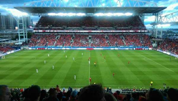 BMO Field, section: 223, row: 17, seat: 19