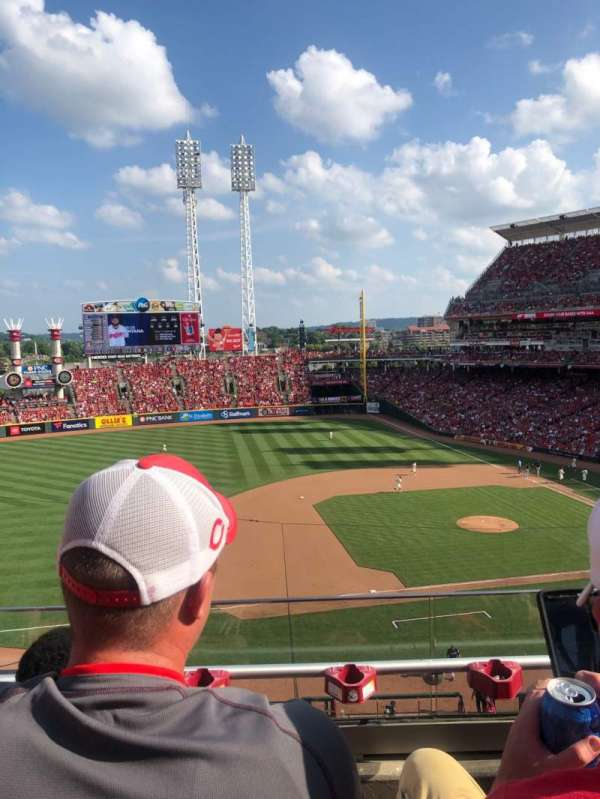 Great American Ball Park, section: 416, row: C, seat: 11