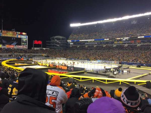 Heinz Field, section: 115, row: V, seat: 1