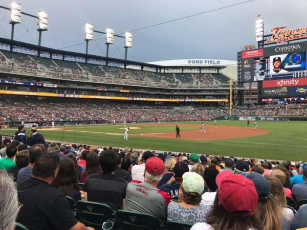 Comerica Park, section: 118, row: 20, seat: 1