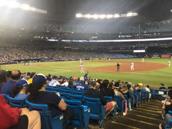 Rogers Centre, section: 114R, row: 15, seat: 1