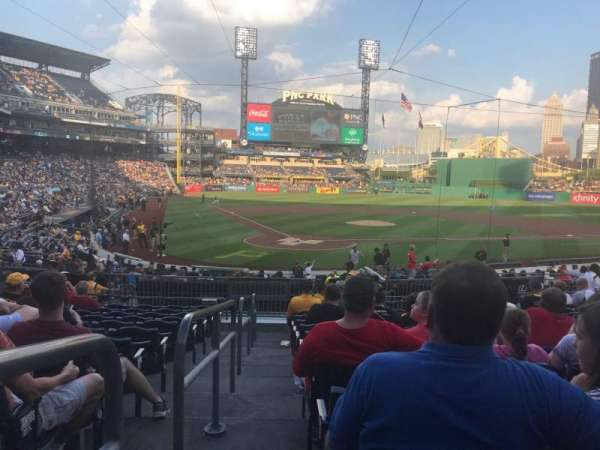 PNC Park, section: 114, row: M, seat: 26