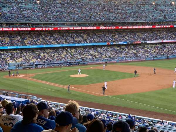 Dodger Stadium, section: 154LG, row: S, seat: 8