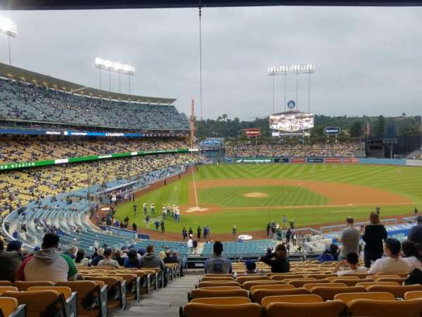 Dodger Stadium , section: 120LG, row: R, seat: 1