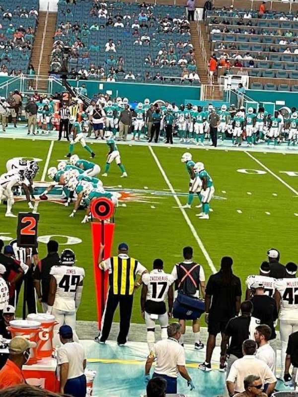 Hard Rock Stadium, section: 118, row: 19, seat: 12