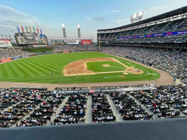 Guaranteed Rate Field, section: 340, row: 1, seat: 5