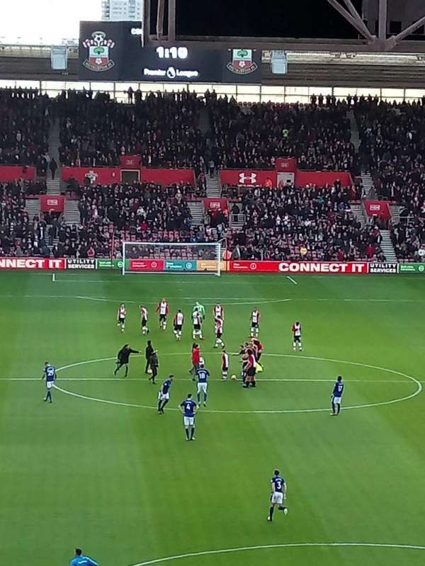 St Mary's Stadium, section: 43, row: NN, seat: 1131