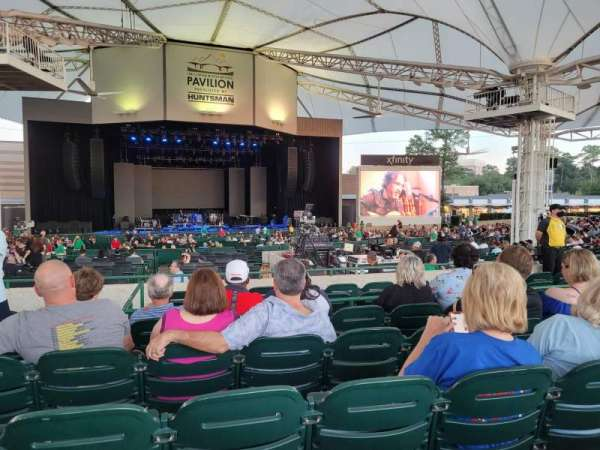 Cynthia Woods Mitchell Pavilion, section: 107, row: F, seat: 21