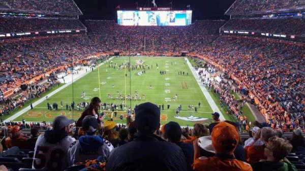 Broncos Stadium at Mile High, section: 322, row: 12, seat: 14