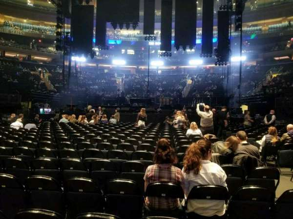 Madison Square Garden, section: Floor B, row: 18, seat: 15