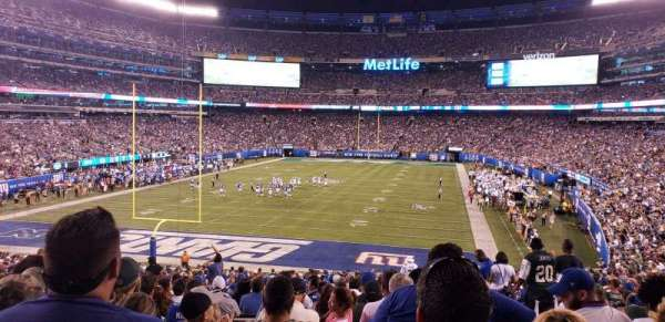 MetLife Stadium, section: 149, row: 36, seat: 5