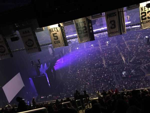 Barclays Center, section: 223, row: 22, seat: 26