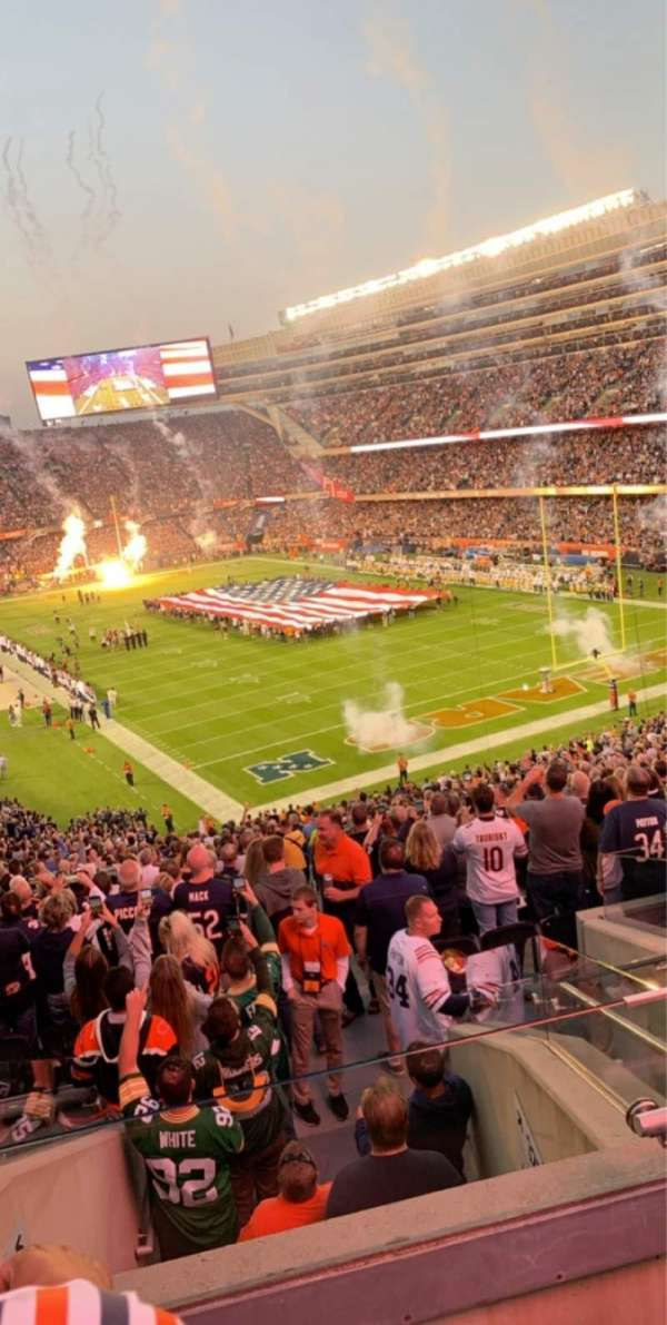Soldier Field, section: 326, row: 8, seat: 12