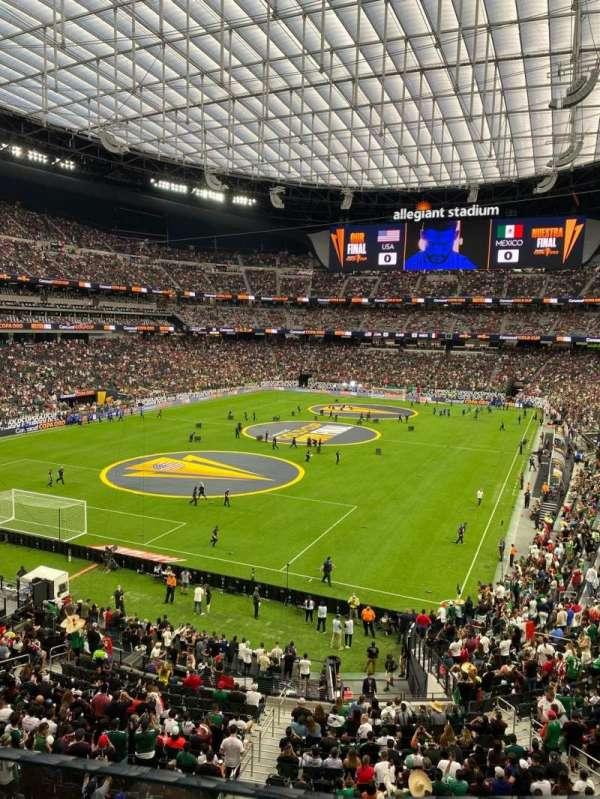 Allegiant Stadium, section: 246, row: 1, seat: 10
