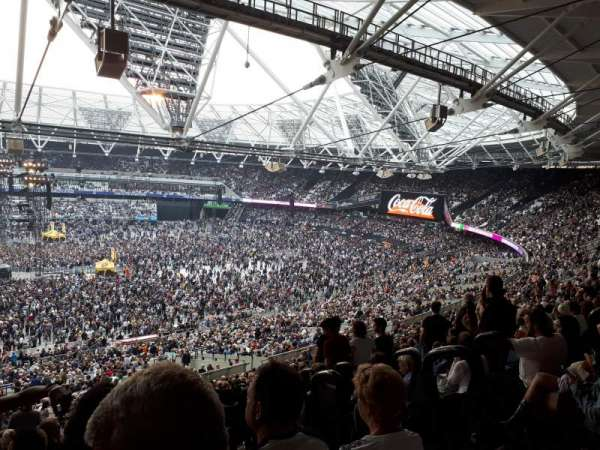London Stadium, section: 235, row: 58, seat: 469
