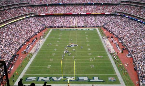 NRG Stadium, section: 723