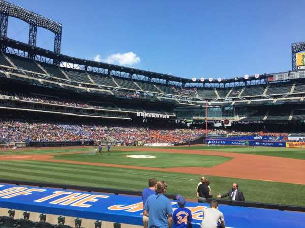 Citi Field, section: 112, row: 8, seat: 2