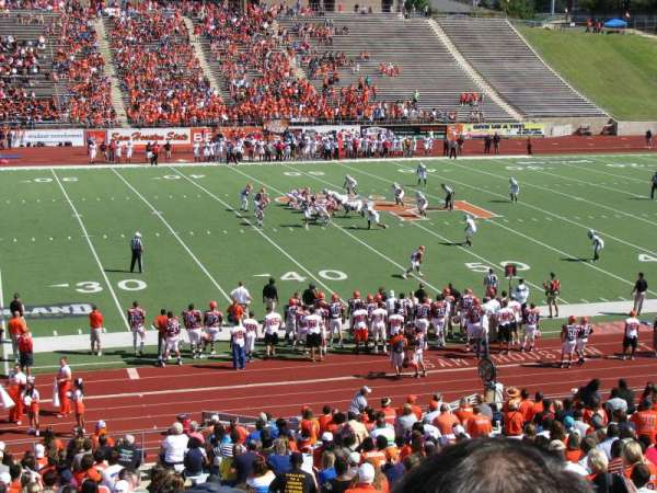 Bowers Stadium, section: G
