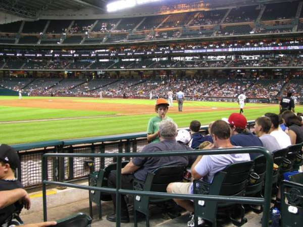 Minute Maid Park, section: 109, row: 5, seat: 5