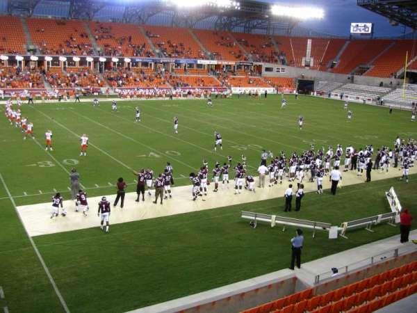 BBVA Stadium, section: 208, row: A, seat: 4