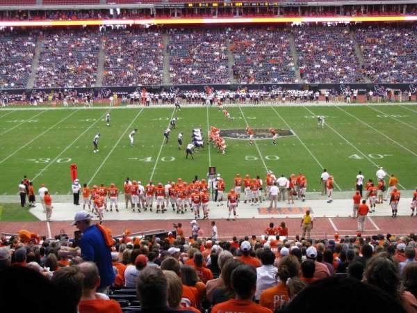NRG Stadium, section: 107A