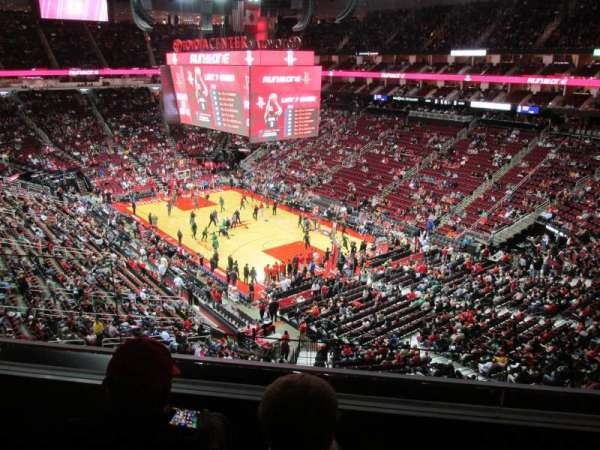 Toyota Center, section: 421, row: 3, seat: 11