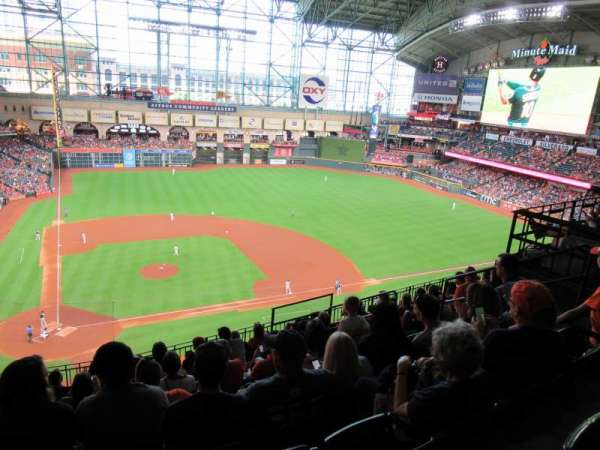 Minute Maid Park, section: 323, row: 9, seat: 7