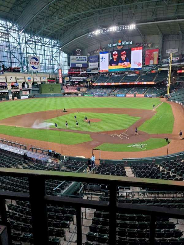 Minute Maid Park, section: 217, row: 1, seat: 4