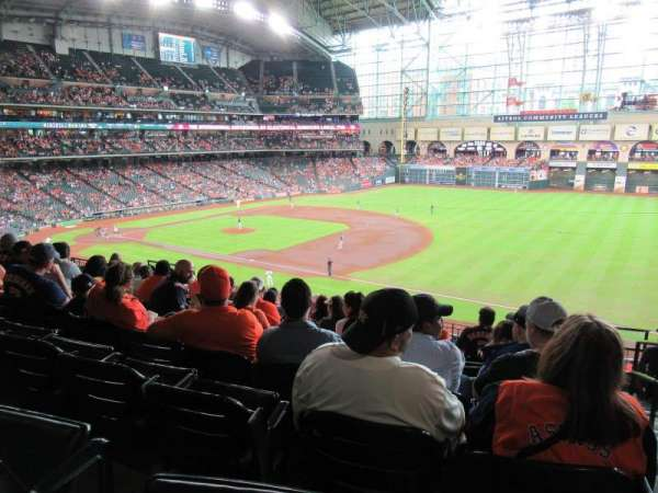 Minute Maid Park, section: 229, row: 10, seat: 16