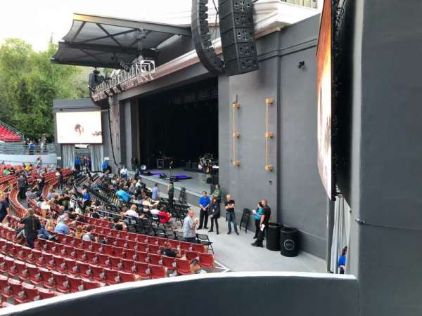 The Greek Theatre, section: South Terrace L1, row: AA, seat: 16